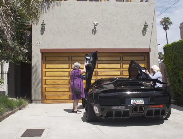Two Grandmas Take Lamborghini Murcielago on a Joy Ride