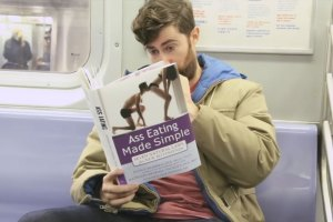 Comedian Scott Rogowsky loves books, especially ones you probably wouldn't want to be seen reading in public.