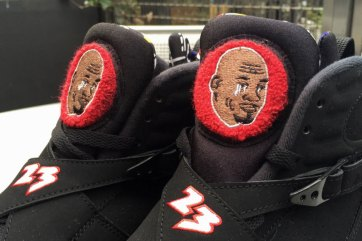 Crying Jordan Air Jordan 8