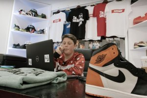 The Sneaker Don: 16-Year-Old Sells Sneakers to DJ Khaled & Chris Brown