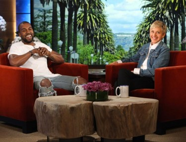 Kanye West Offers Another Epic Rant on Ellen