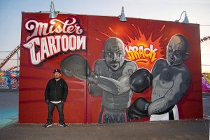 Mister Cartoon's New Piece For Coney Art Walls