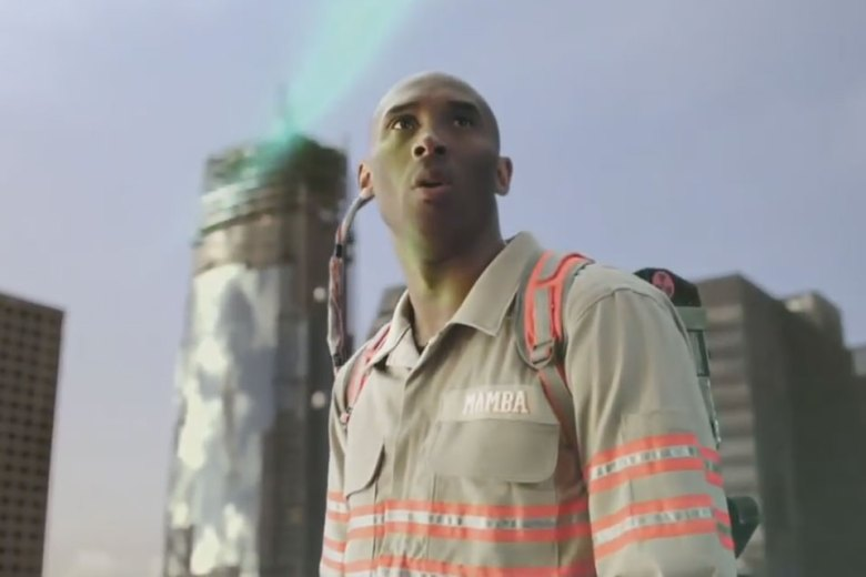 Kobe Bryant in new Ghostbusters commercial