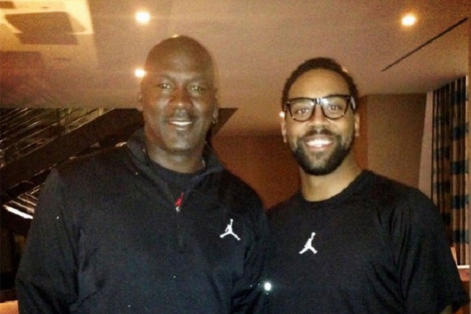 Marcus Jordan Talks Shopping For Michael Jordan on Father s Day ce8267bc5