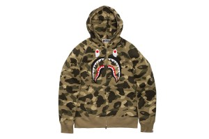 095ff5638d34 BAPE s Full-Zip Shark Hoodies