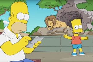 Homer Simpson Plays Pokemon GO