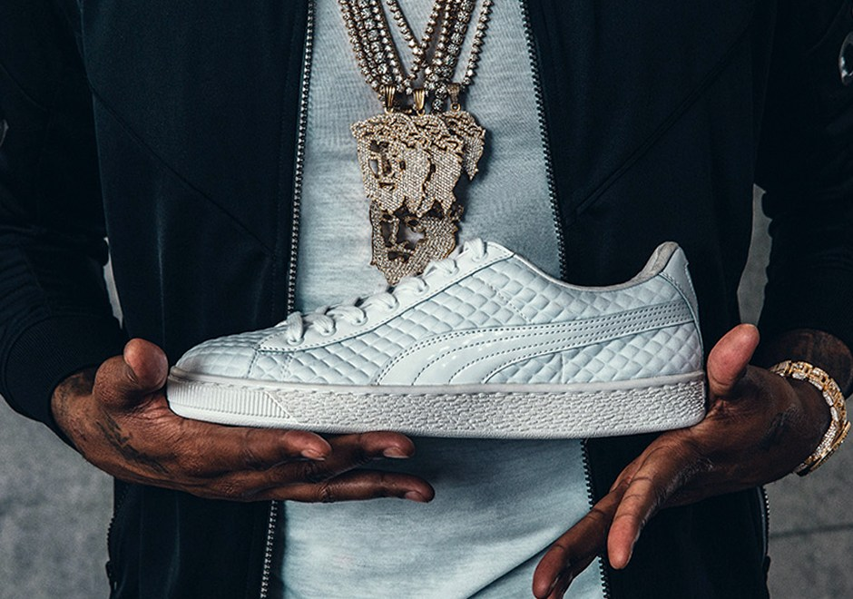 391898fc65a Meek Mill Re-Ups With PUMA For All-White Quilted Leather Capsule