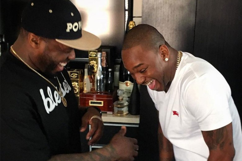 50 Cent and Cam'ron