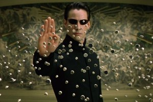 Matrix Reload Fight Scene With 8-Bit Sound