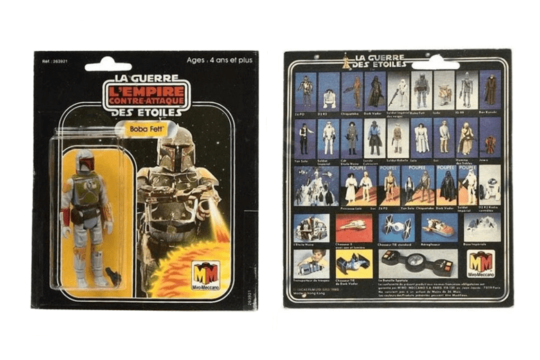 Rare Star Wars Boba Fett Toy Fetches $34K at Auction