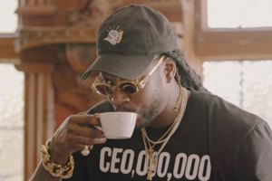 2 Chainz drinking coffee