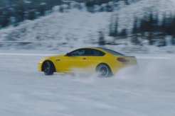 Pennzoil Yellow BMW M6 Races Through Canadian Tundra