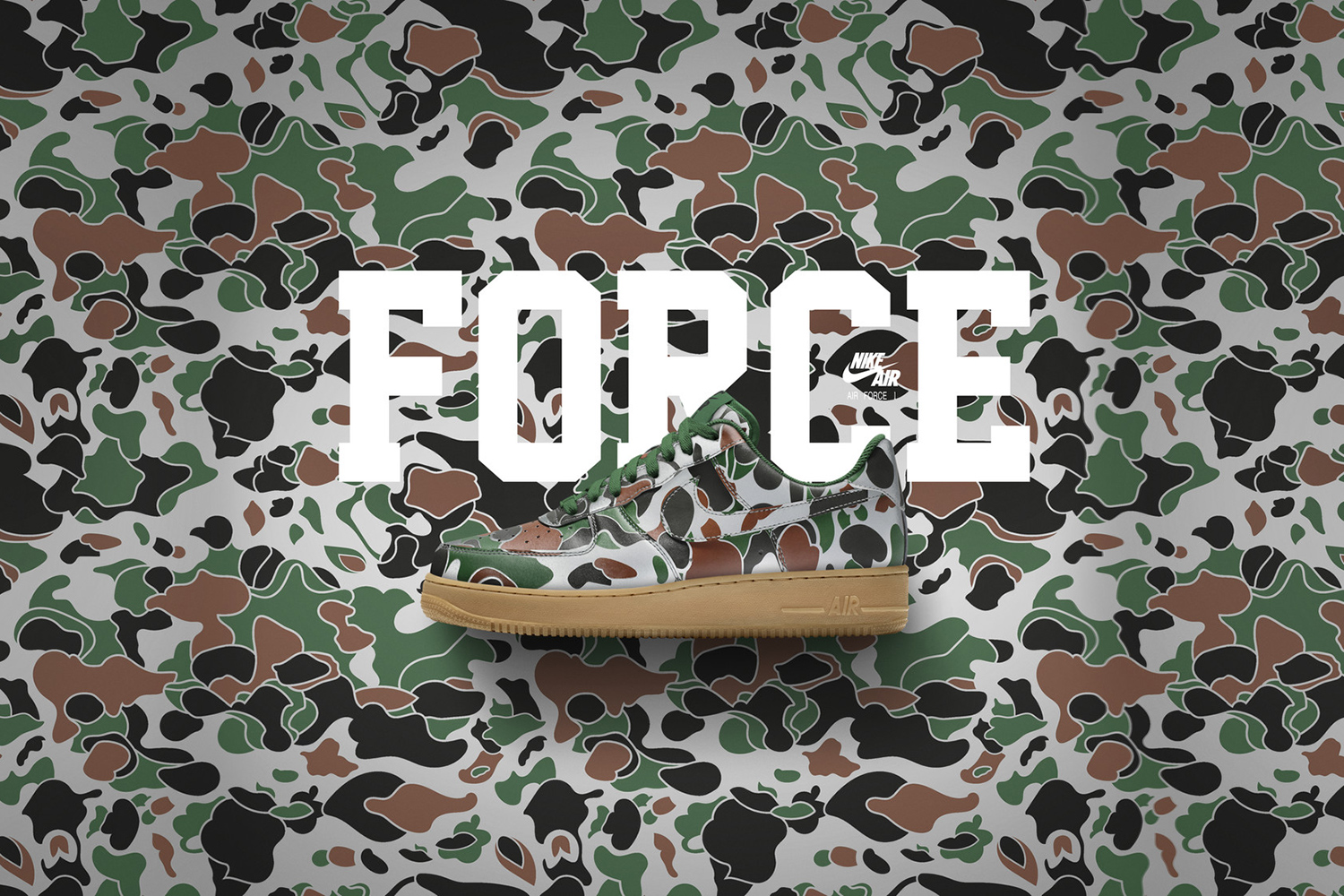 Force New Nike Gets Designs Id Air Camo 1 wn0mN8
