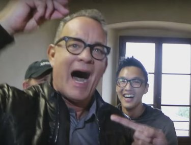 Tom Hanks Reenacts BIG Rap