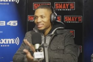 Damian Lillard on Sway in the Morning