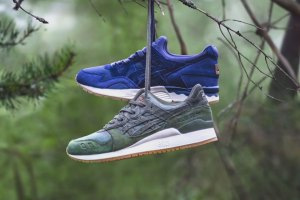 Sneakersnstuff x ASICS Tiger Forest Pack