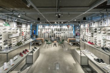 Inside Adidas NYC Flagship