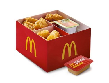 McDonald's Hash Brown Bites