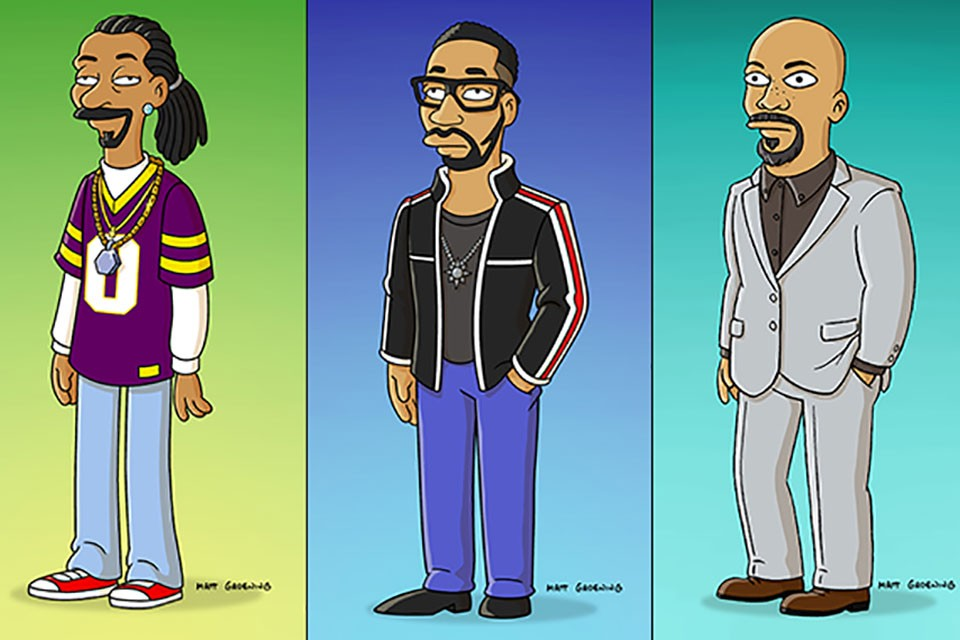 Snoop Dogg, Common & RZA The Simpsons