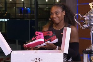 Michael Jordan Gifts Serena Williams Special Sneakers