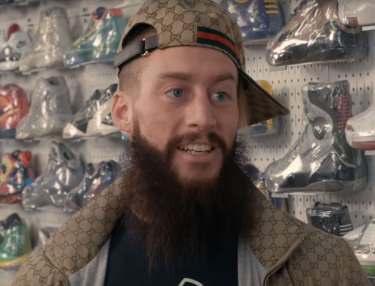 WWE Superstar Enzo Amore Goes Sneaker Shopping