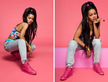 Teyana Taylor x Reebok Freestyle Color Bomb Pack