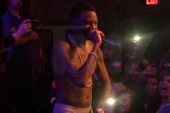 Soulja Boy Disses Chris Brown On Stage