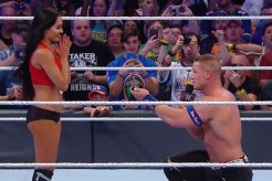 John Cena Proposed to Girlfriend Nikki Bella at WrestleMania 33