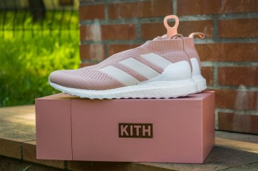 KITH x Adidas ACE 16+ PureControl UltraBOOST Pink