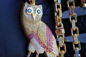 Drake OVO chain from Ben Baller