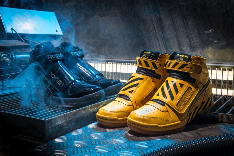 "Reebok Unveils Alien Stomper ""Final Battle"""