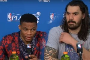 Russell Westbrook Shuts Down Reporter