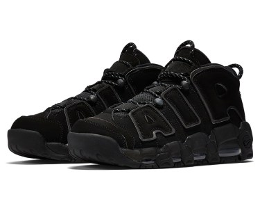 Nike Air More Uptempo Triple Black