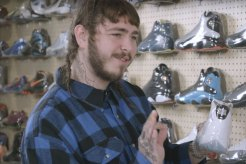 Post Malone Goes Sneaker Shopping