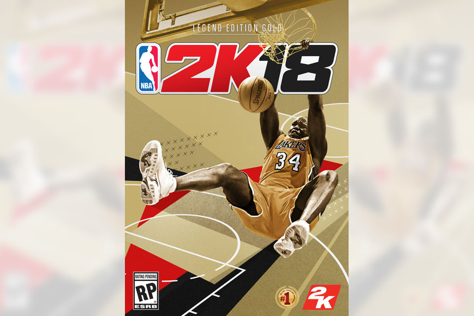 Shaquille O'Neal NBA 2K18: Legend Edition