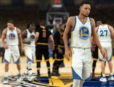 NBA 2K17 Simulates the 2017 NBA Finals