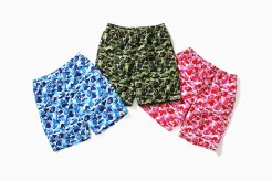 BAPE ABC Camo Beach Shorts