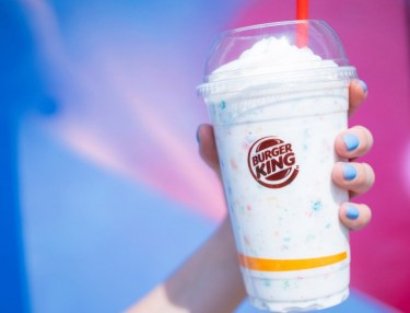 Burger King Lucky Charms Milkshake