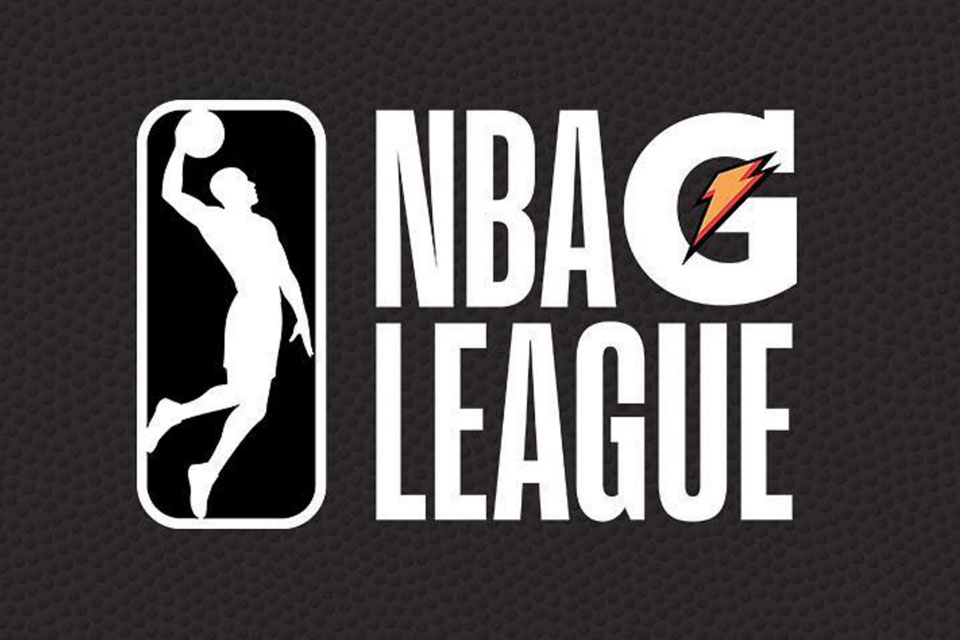 National Basketball Association developmental league is now the G-League with Gatorade as sponsor