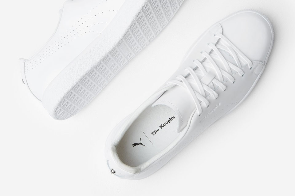 b21d30201ac762 Kooples x PUMA Give the Clyde a Monochromatic Makeover