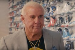 Ric Flair Goes Sneaker Shopping in NYC