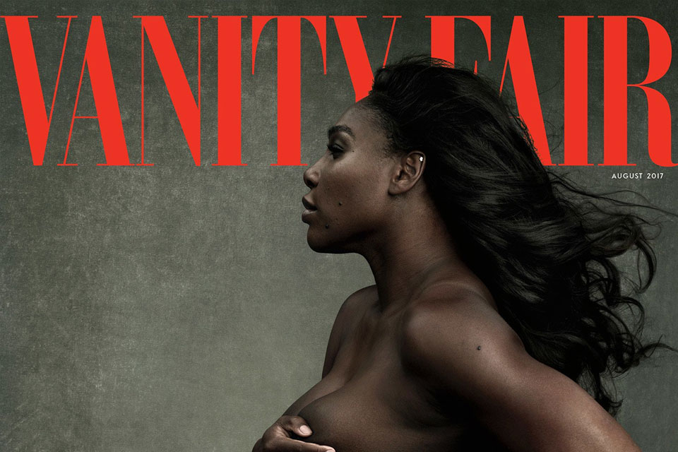 Serena Williams for Vanity Fair Aug. 2017