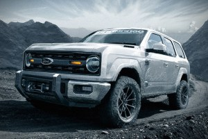 2020 Ford Bronco 4-Door concept