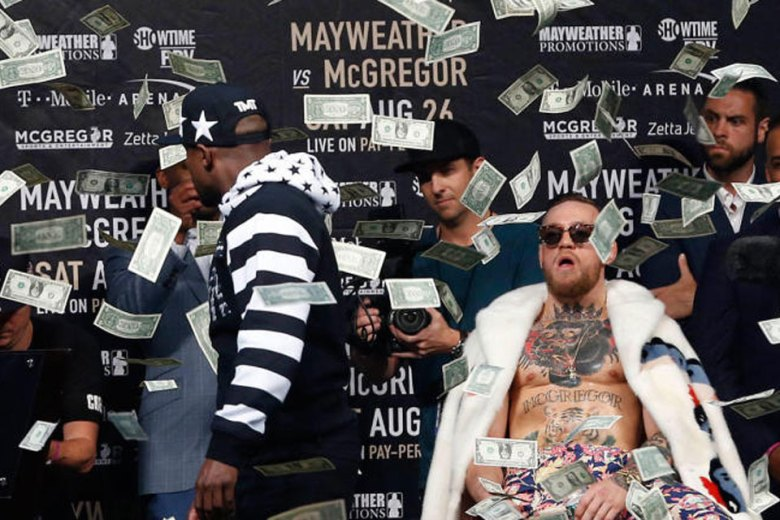 Conor McGregor Addresses Racist Claims, Mayweather Makes It Rain on McGregor