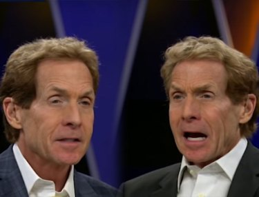 Skip Bayless Debates Himself Over Aaron Rodgers