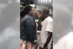 dude beat up by a woman