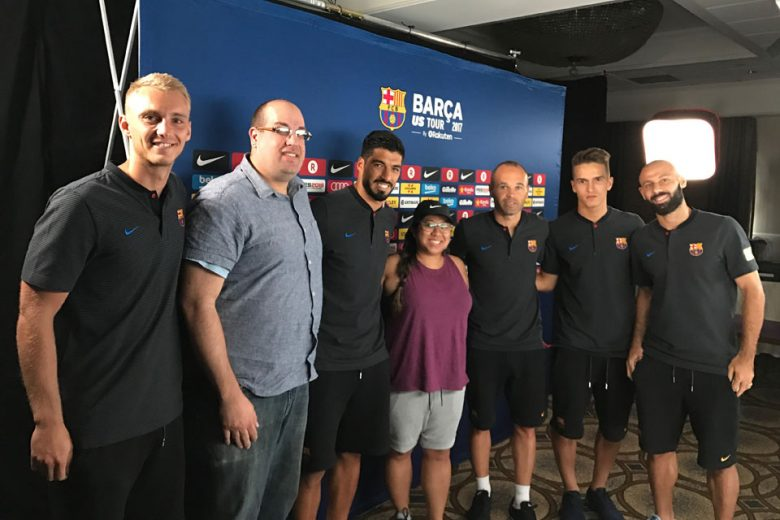 Barcelona FC tour in New York City