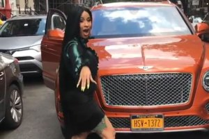 Cardi B Buys New Bentley