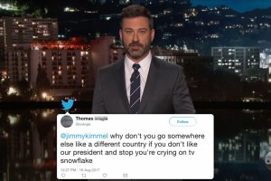 Jimmy Kimmel Reads Mean Comments From Trump Supporters
