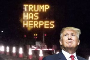 Hackers Change California Freeway Sign with Trump Diss